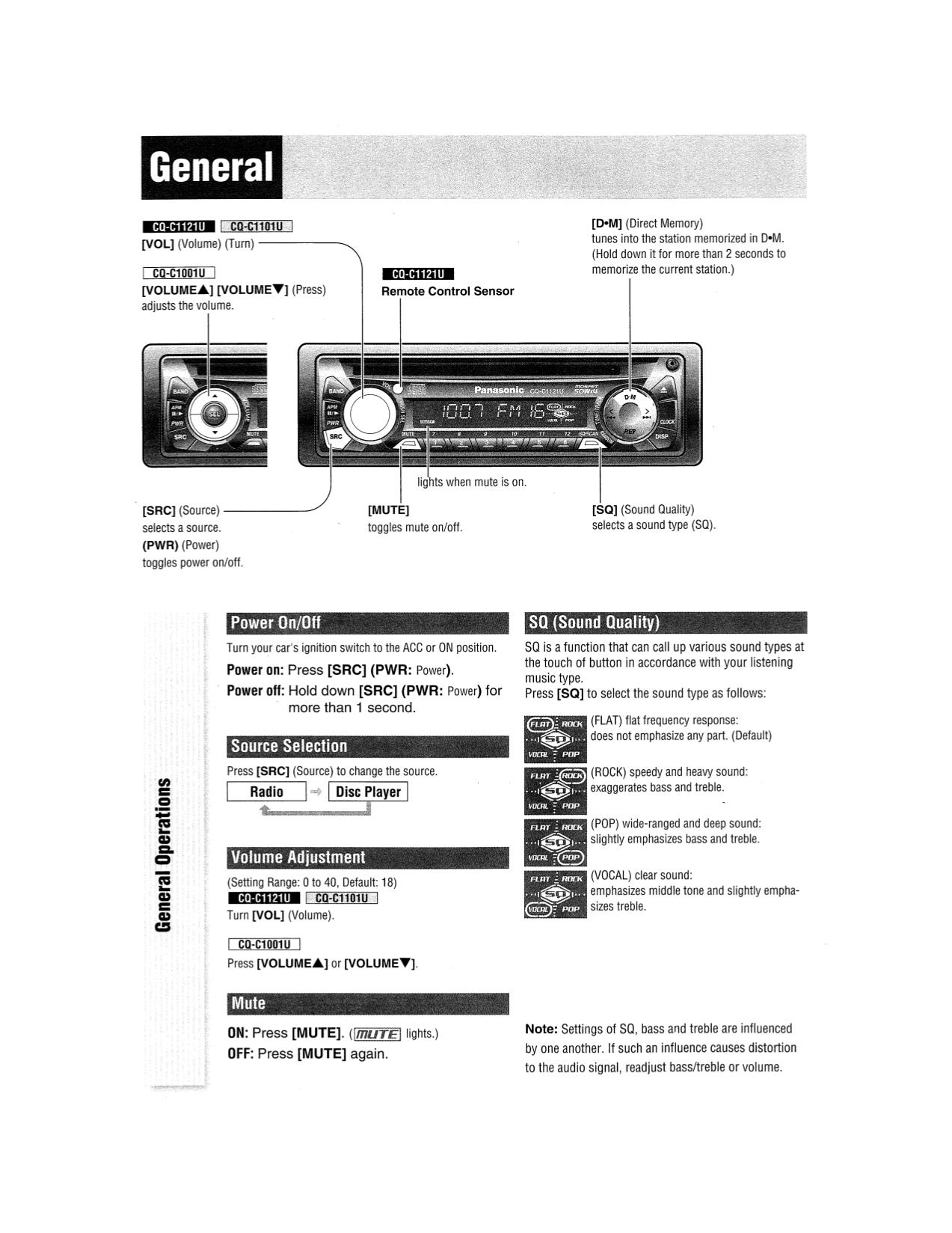 Nice Panasonic Cq Rx100u Wiring Diagram Pictures Inspiration ...