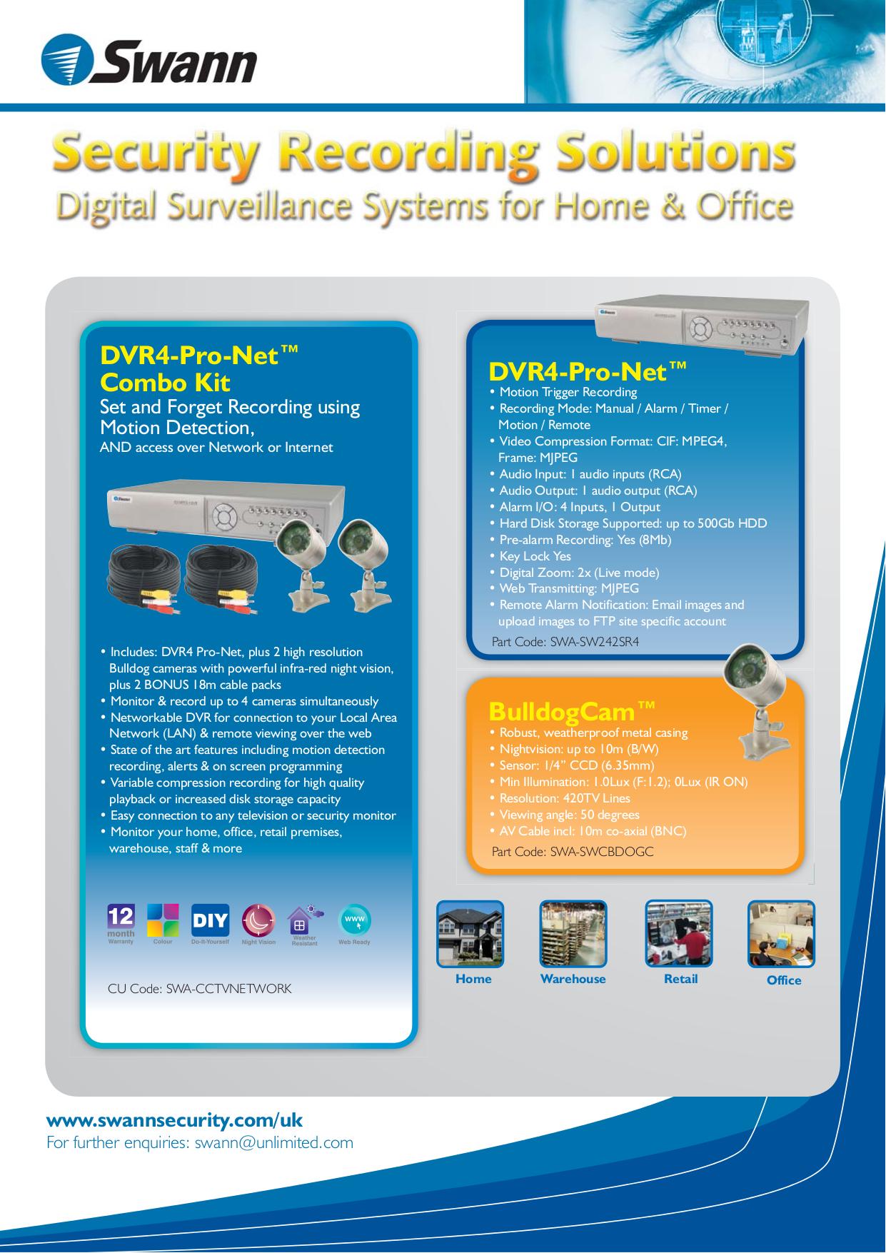 download free pdf for swann sw242 sr4 dvr manual rh umlib com