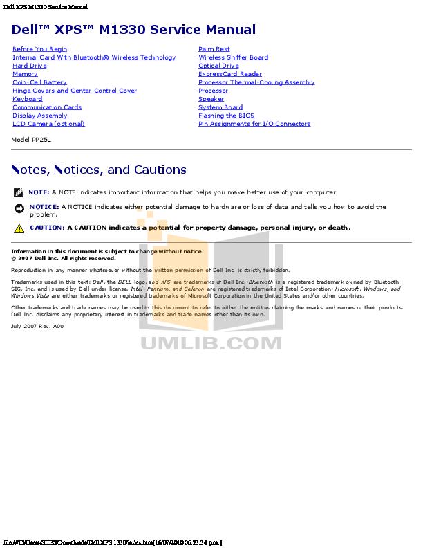 dell xps manual free owners manual u2022 rh wordworksbysea com dell studio xps 1645 user manual dell studio xps 435t/9000 service manual