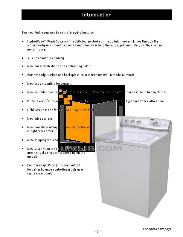 pdf manual for ge washer profile wpre6100g rh umlib com ge hydrowave washer repair manual ge hydrowave washer repair manual pdf