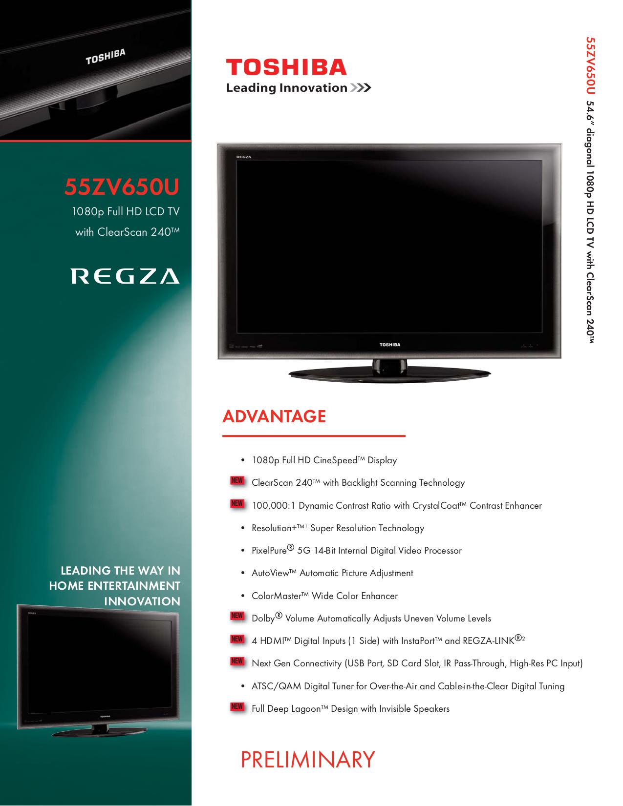 toshiba 40xv733 lcd tv service manual download