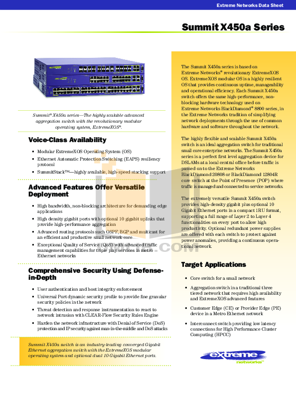 pdf for Extreme Other Sentriant NG300 Network-Accessory manual