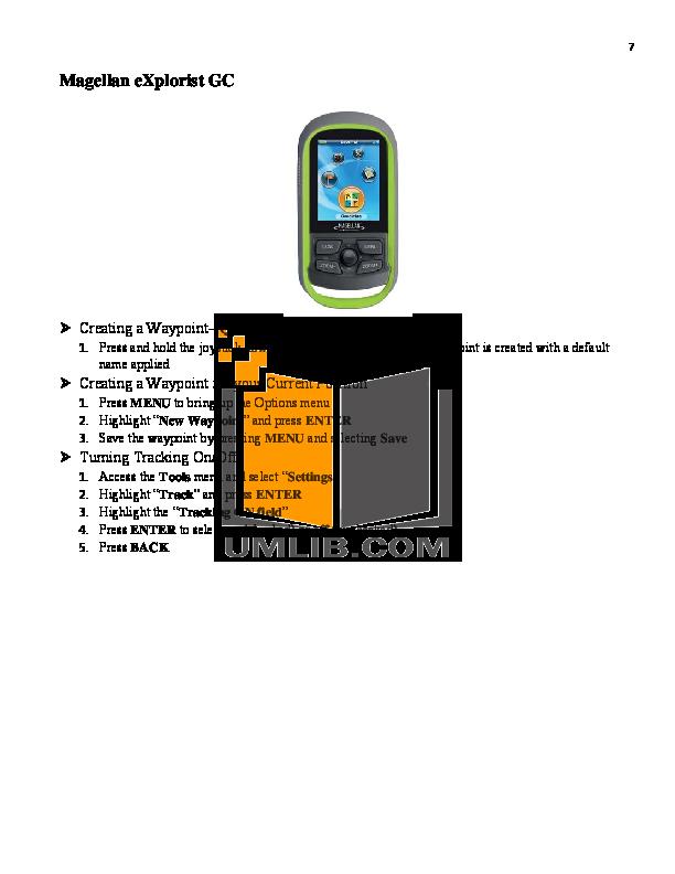 pdf manual for garmin gps gpsmap 60csx rh umlib com User Manual Template User Manual Template