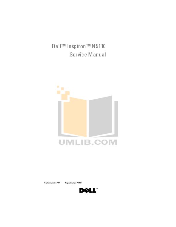 Dell Inspiron 640m Service Manual Pdf