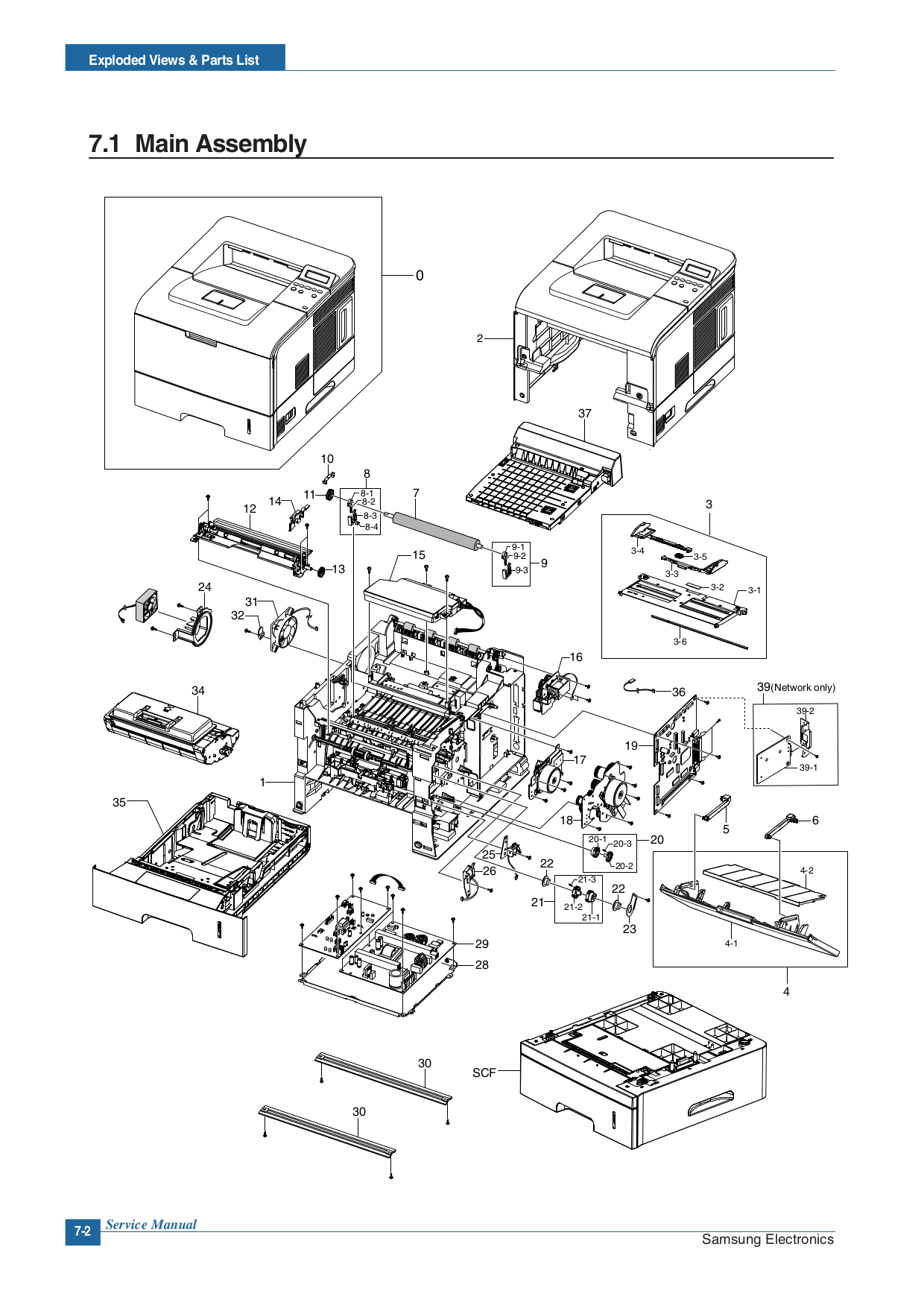 Samsung Printer ML-4550 pdf page preview