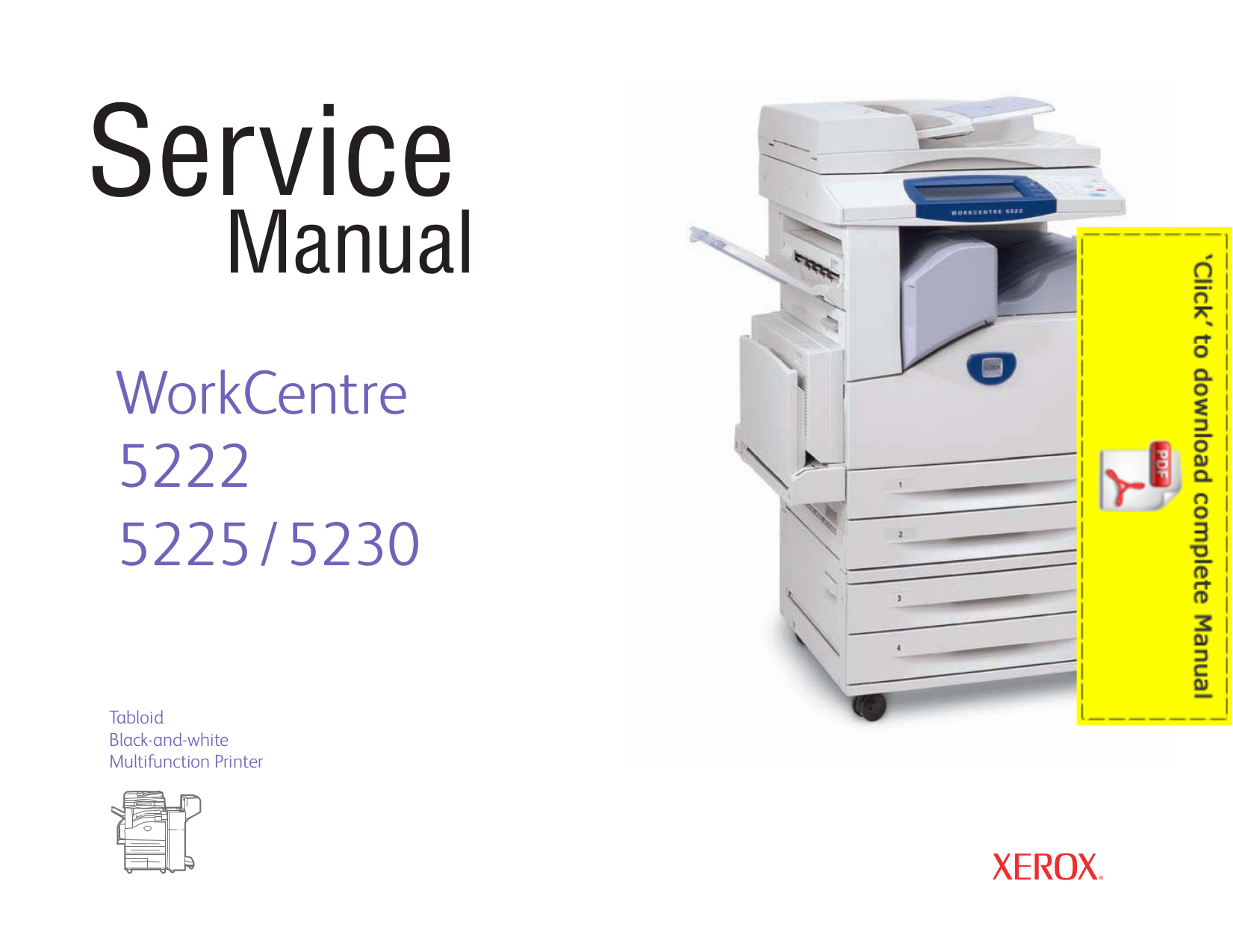 pdf manual for xerox multifunction printer workcentre pro 421 rh umlib com xerox workcentre 5230 manuel xerox wc 5230 manual