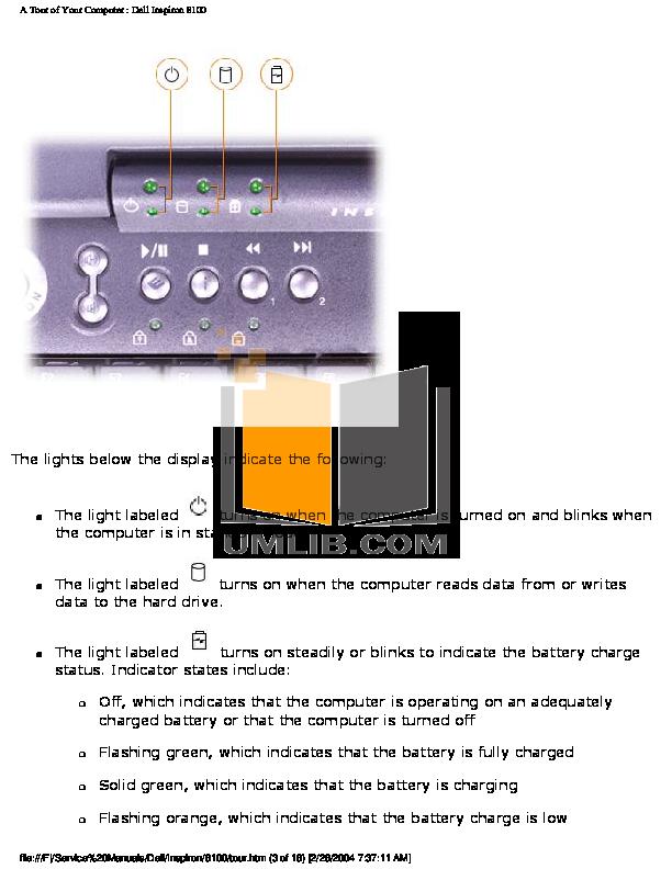 pdf manual for dell desktop dimension 8100 rh umlib com Dell Dimension 8110 Dell Dimension Drivers