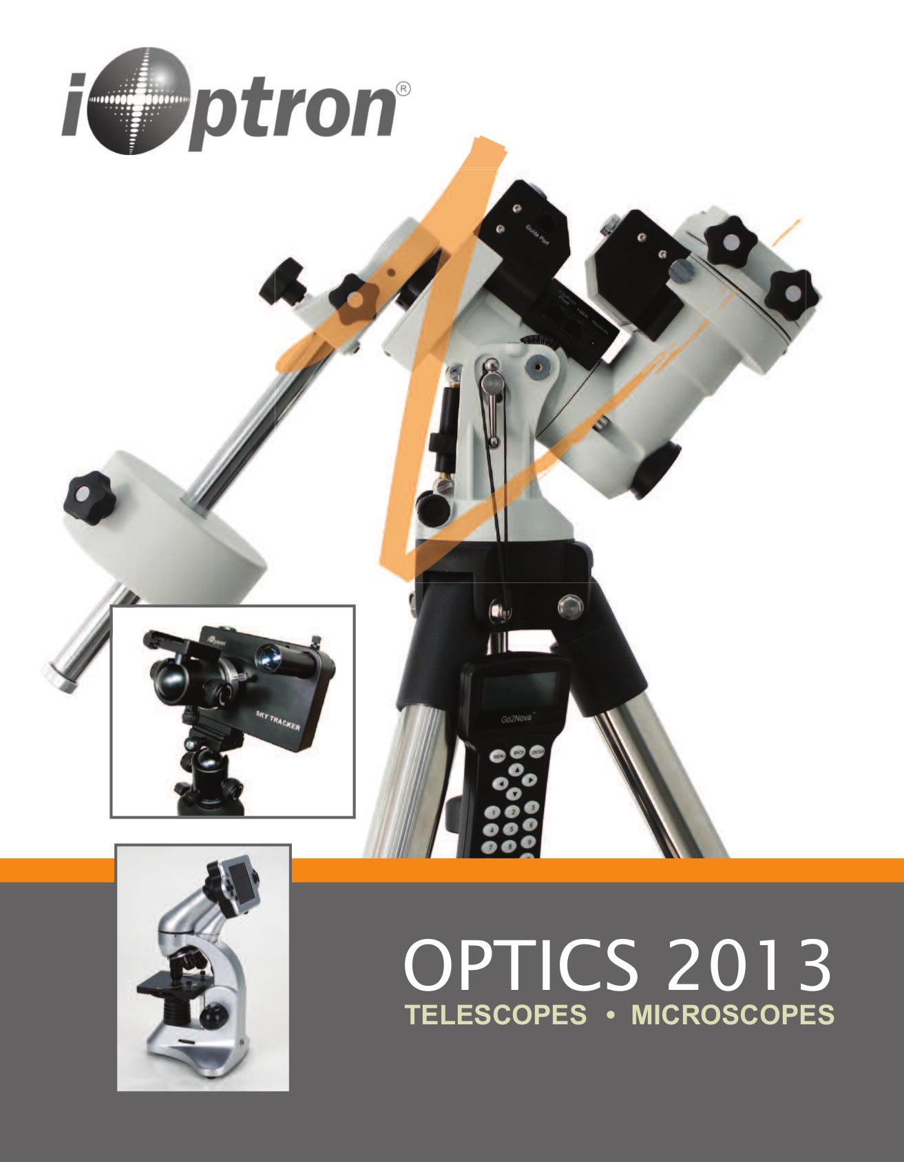 pdf for Ioptron Telescope SmartStar G-MC90 manual