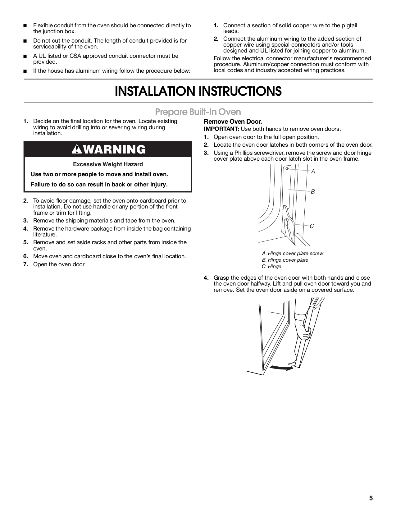 Pdf Manual For Maytag Oven Mew6530dds Pigtail Aluminum Wiring