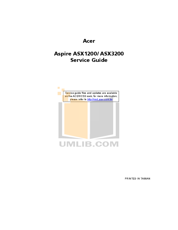 pdf for Acer Desktop AcerPower 2100 manual