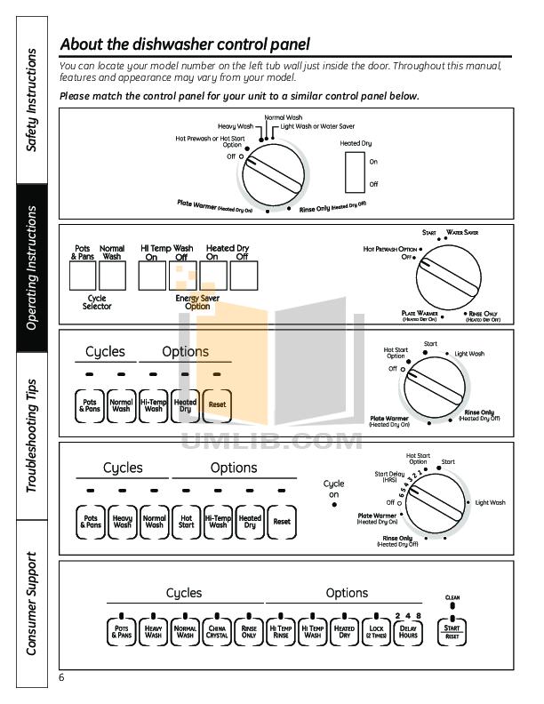 ge monogram dishwasher manual pdf
