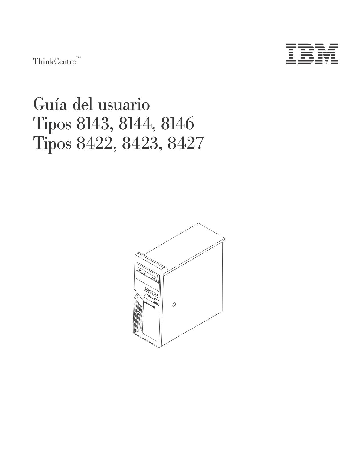pdf for Lenovo Desktop ThinkCentre M51 8144 manual