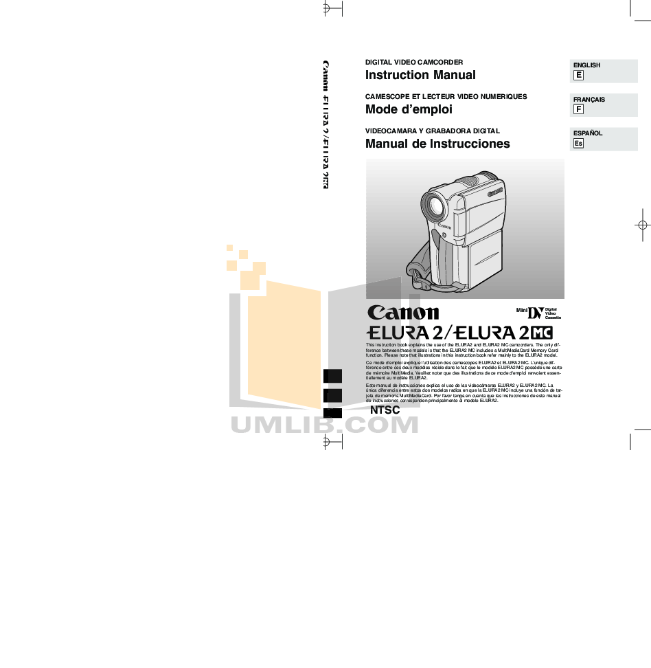 download free pdf for canon elura 90 scanner manual rh umlib com canon elura 80 manual Canon Elura 100 Driver
