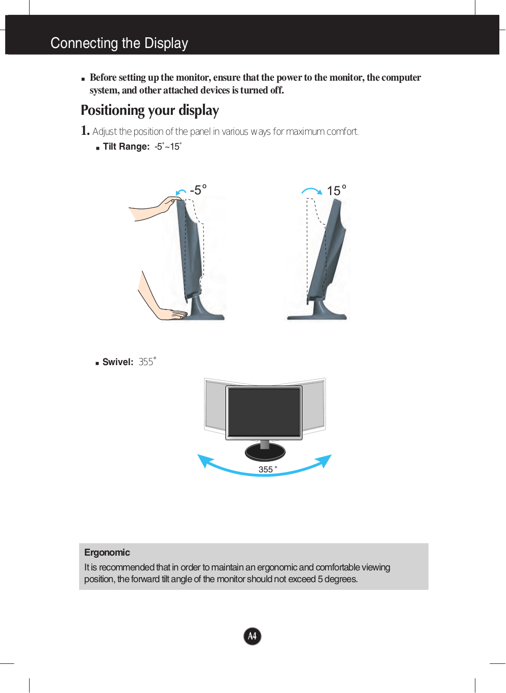 LG Monitor W2453V pdf page preview
