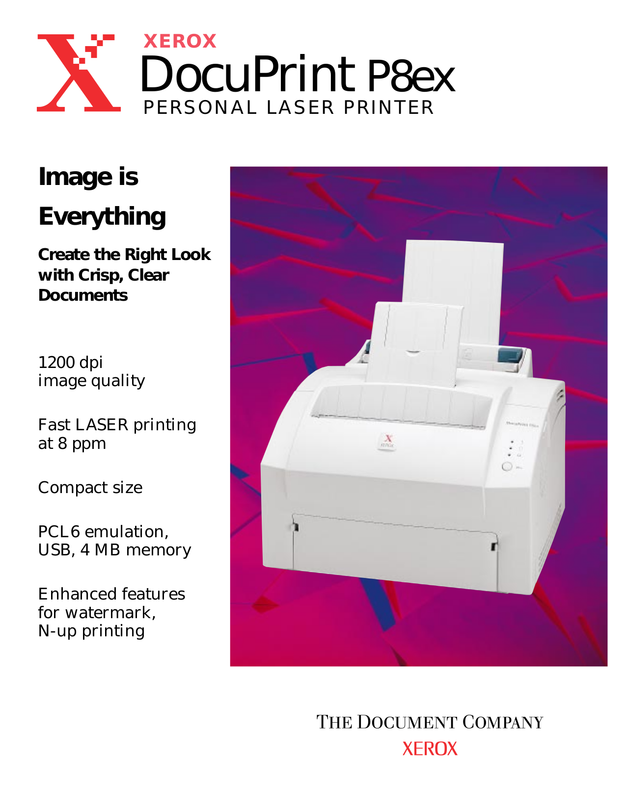 Xerox docuprint p8ex инструкция