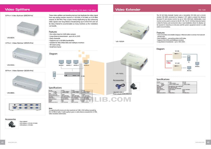 download free pdf for aten ve 120 video extender other manual rh umlib com User Guide Template Kindle Fire User Guide