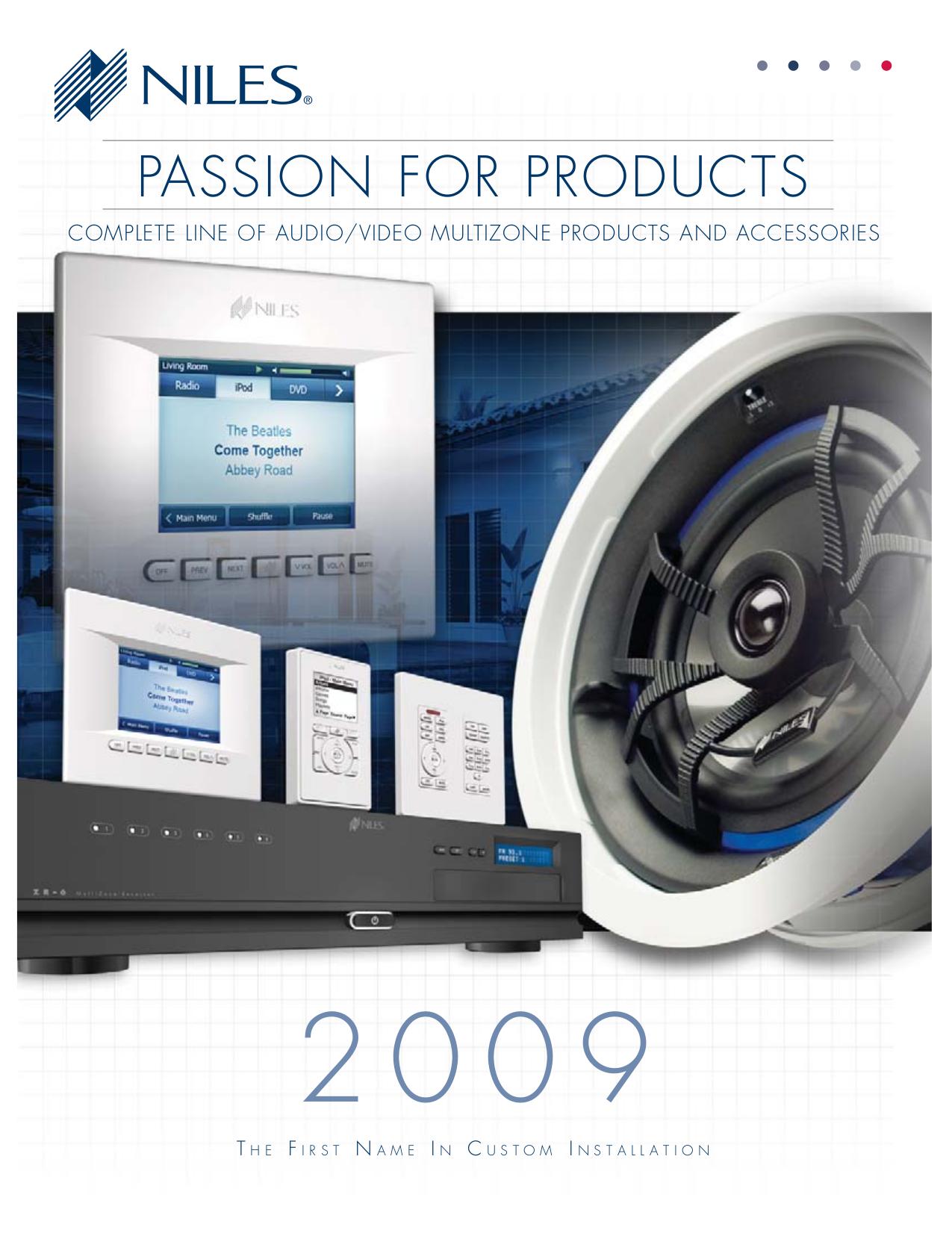 pdf for Niles Speaker CM730DS manual