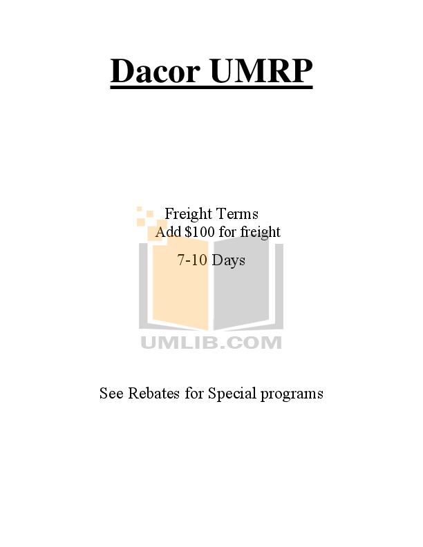 pdf for Dacor Refrigerator Epicure EF48NBSS manual