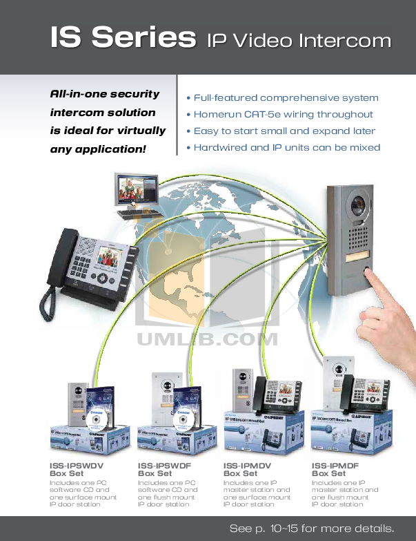 Aiphone Other BA-1P Intercoms-Accessory pdf page preview