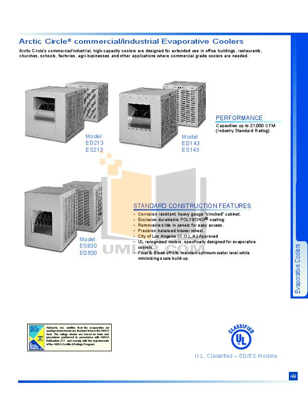 download free pdf for adobeair articcircle ed830 air conditioner manual rh umlib com Carrier Manuals Plant for Home Air Conditioner