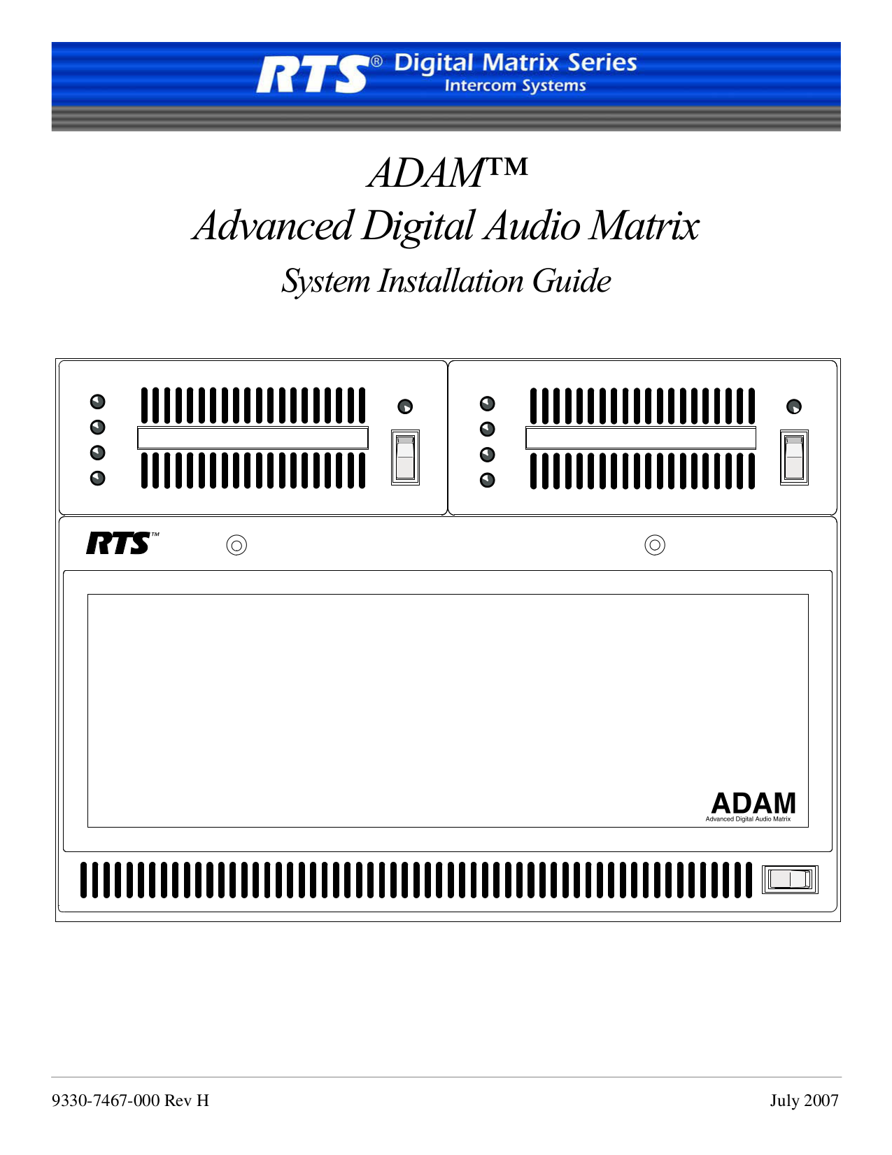 pdf for Telex Other KP95 IntercomSystem manual