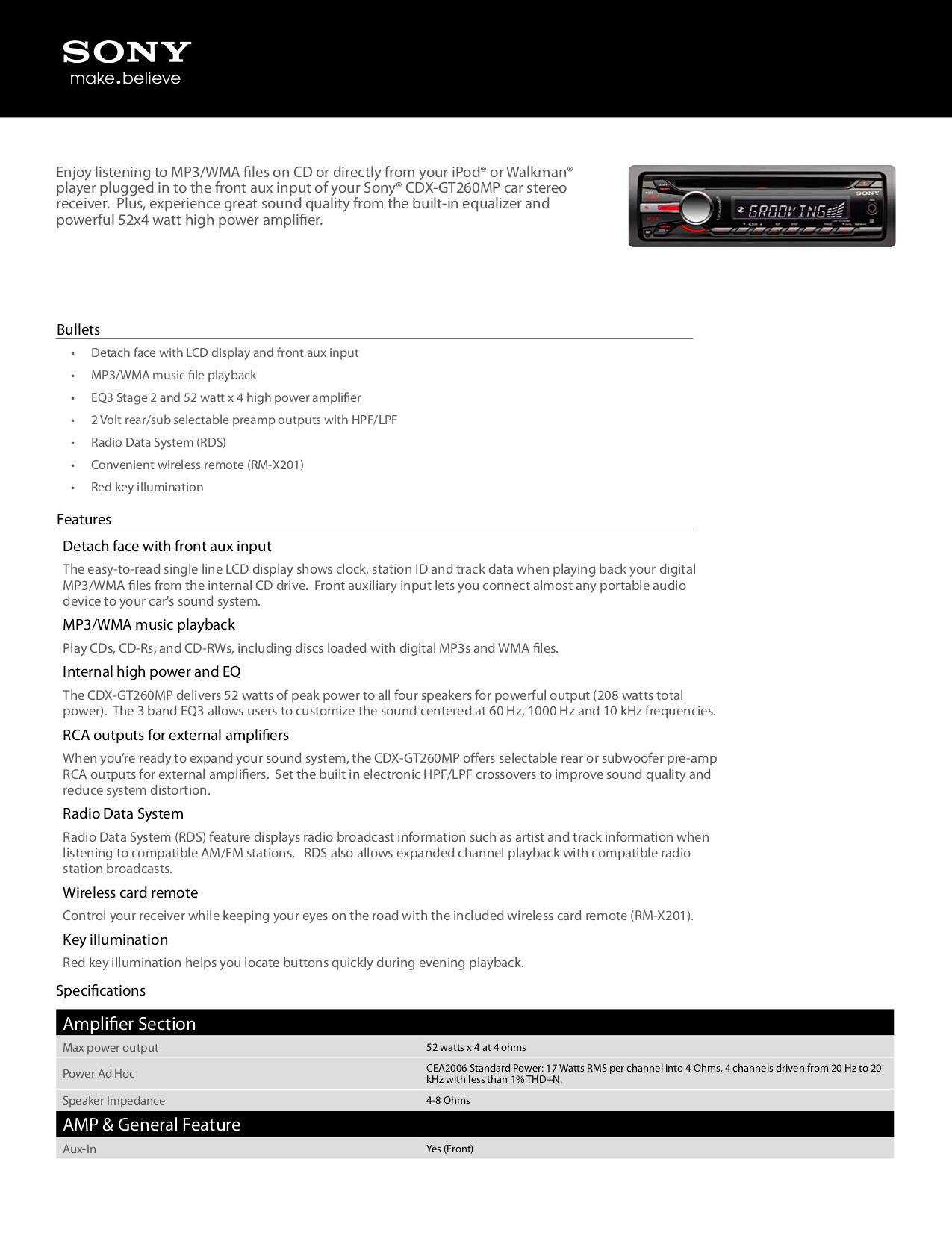 download free pdf for sony xplod cdx gt40u car receiver manual rh umlib com