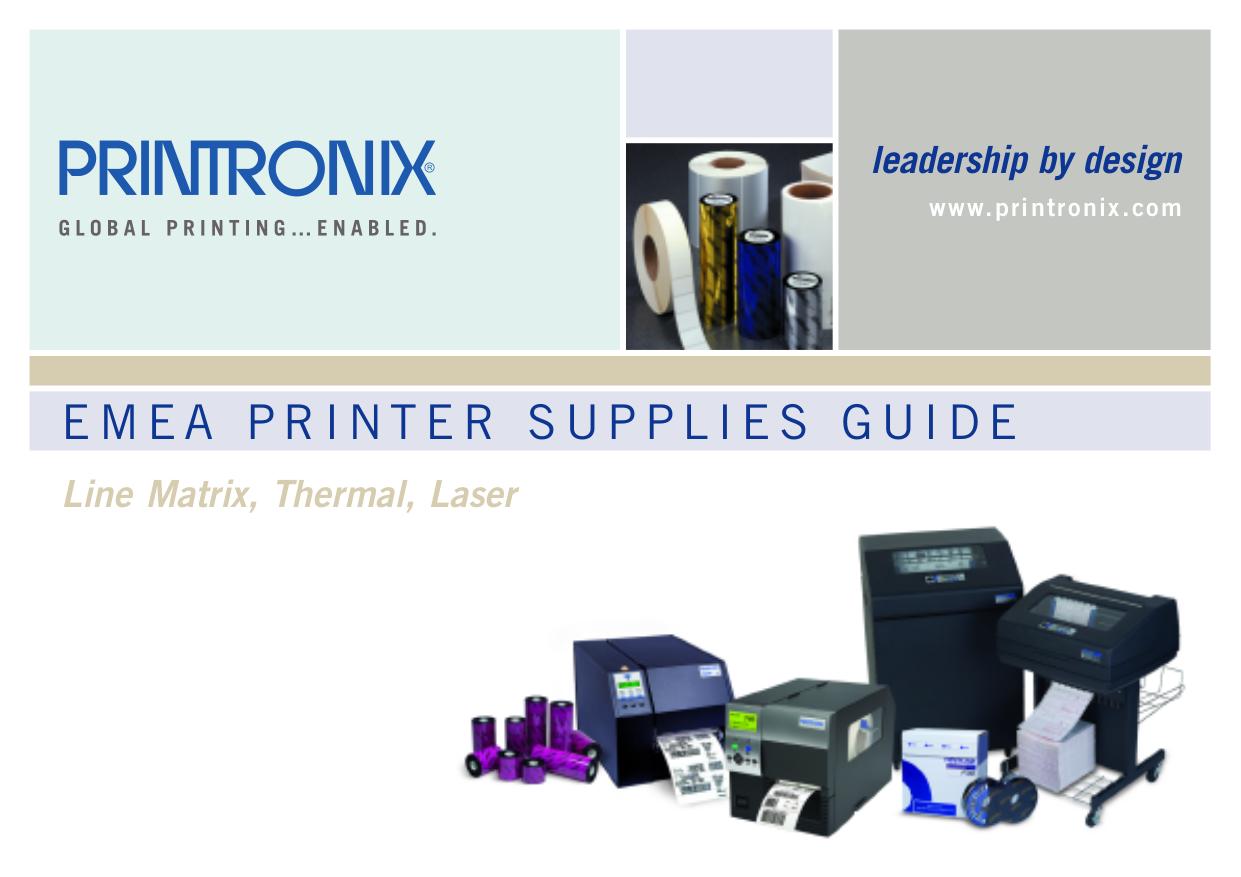 Printronix t5204r manual.