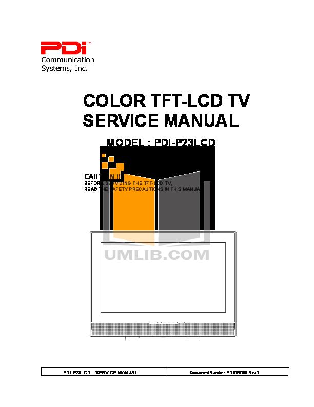 pdf for Haier TV LCD32-407B manual