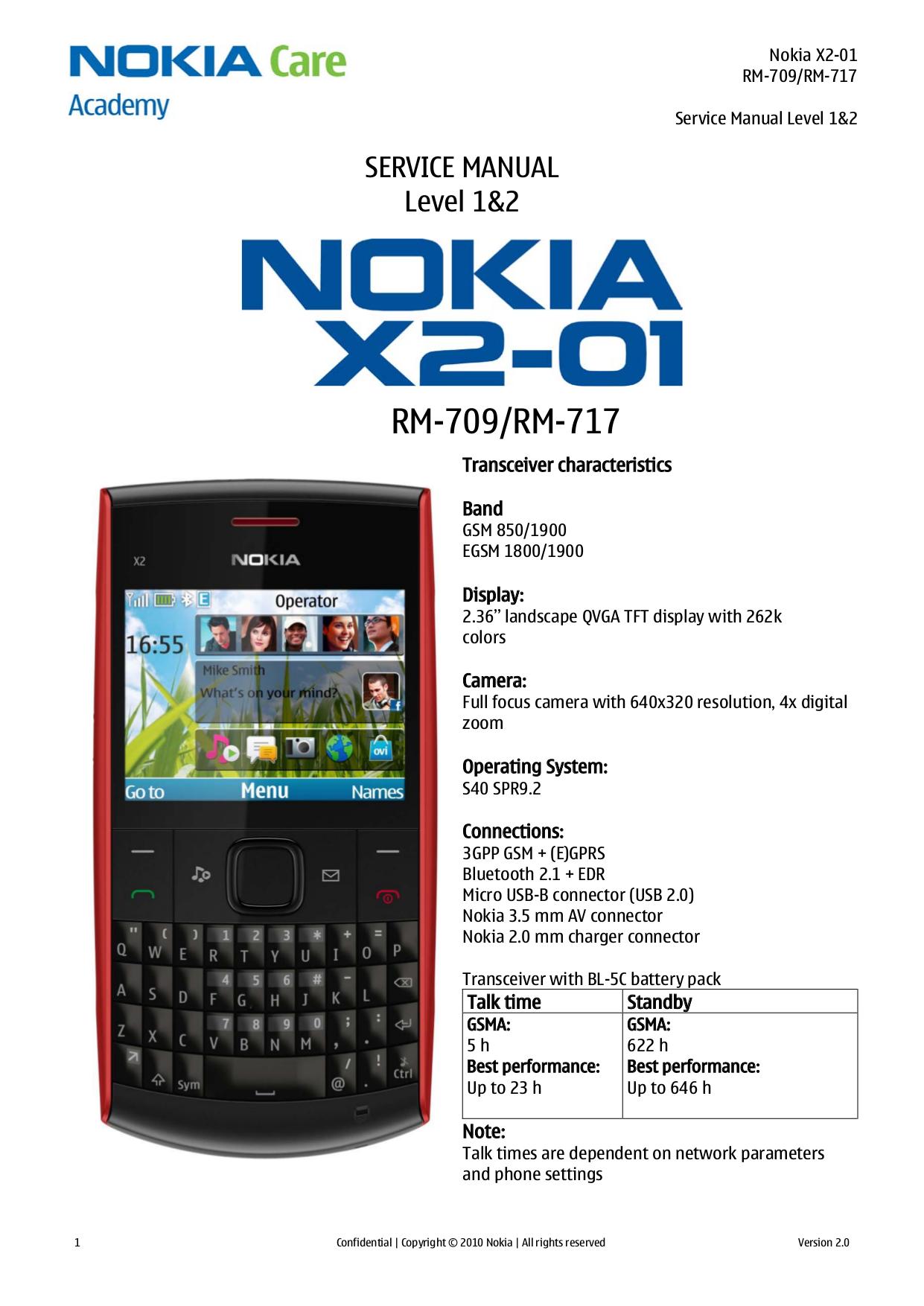 For x200 pdf nokia