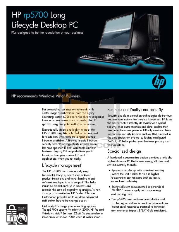 download free pdf for hp rp5700 desktop manual rh umlib com
