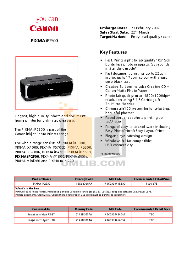 Canon ip3300 принтер инструкция