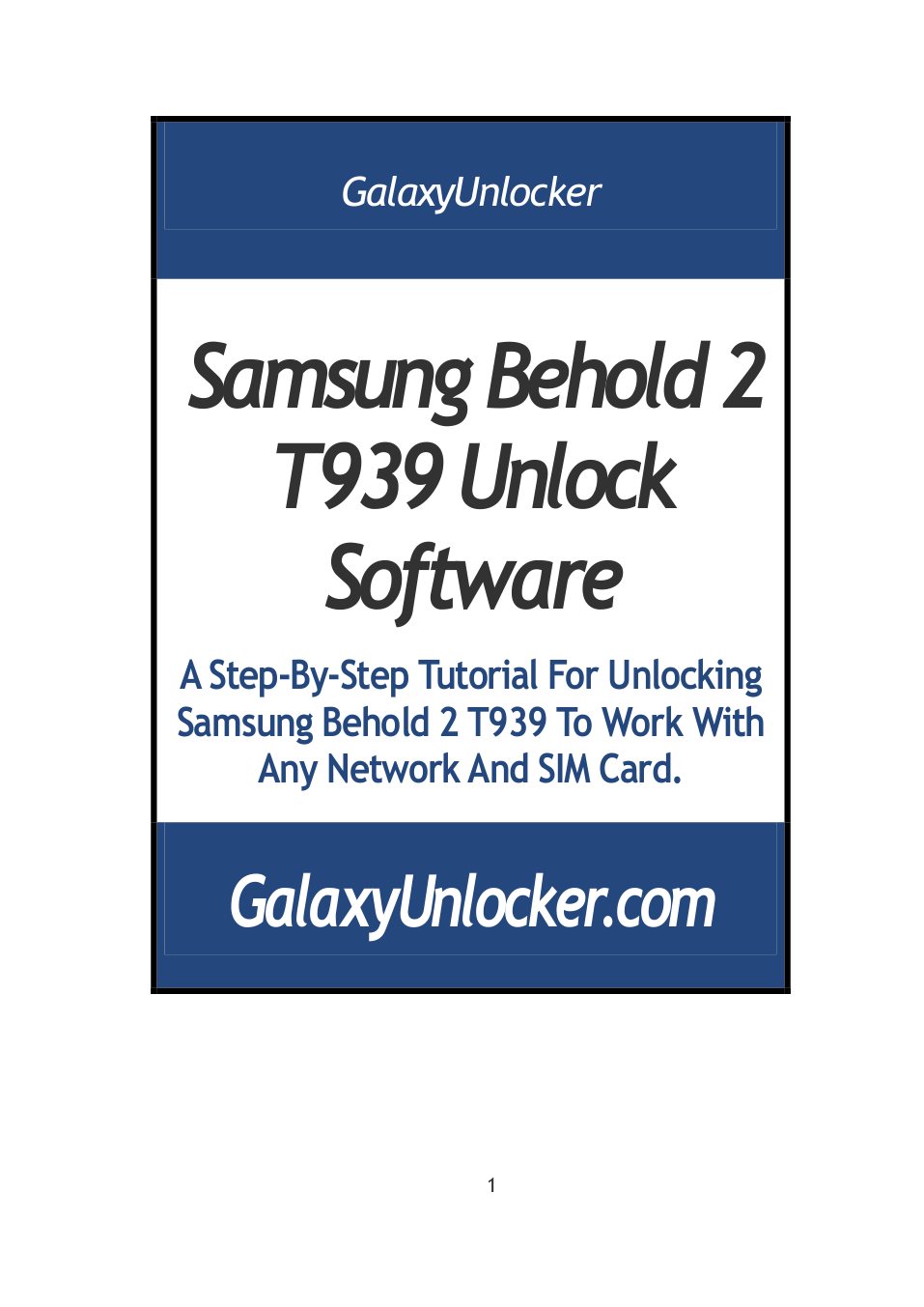 pdf for Samsung Cell Phone Behold II manual