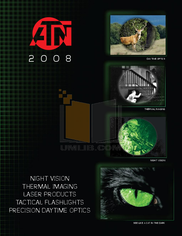 pdf for Atn Binocular NVG7-HPT manual
