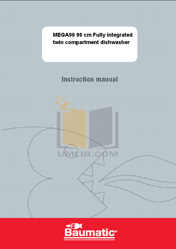 pdf for Baumatic Dishwasher MEGA90 manual