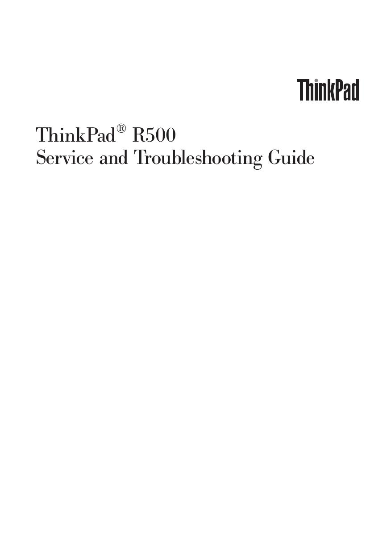 download free pdf for lenovo thinkpad r500 2716 laptop manual rh umlib com lenovo mobile troubleshooting guide lenovo laptop troubleshooting guide