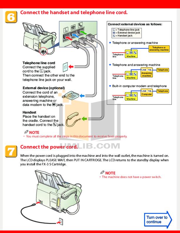 pdf manual for canon fax machine faxphone l80 rh umlib com Fax Machine Canon L80 Cartridge
