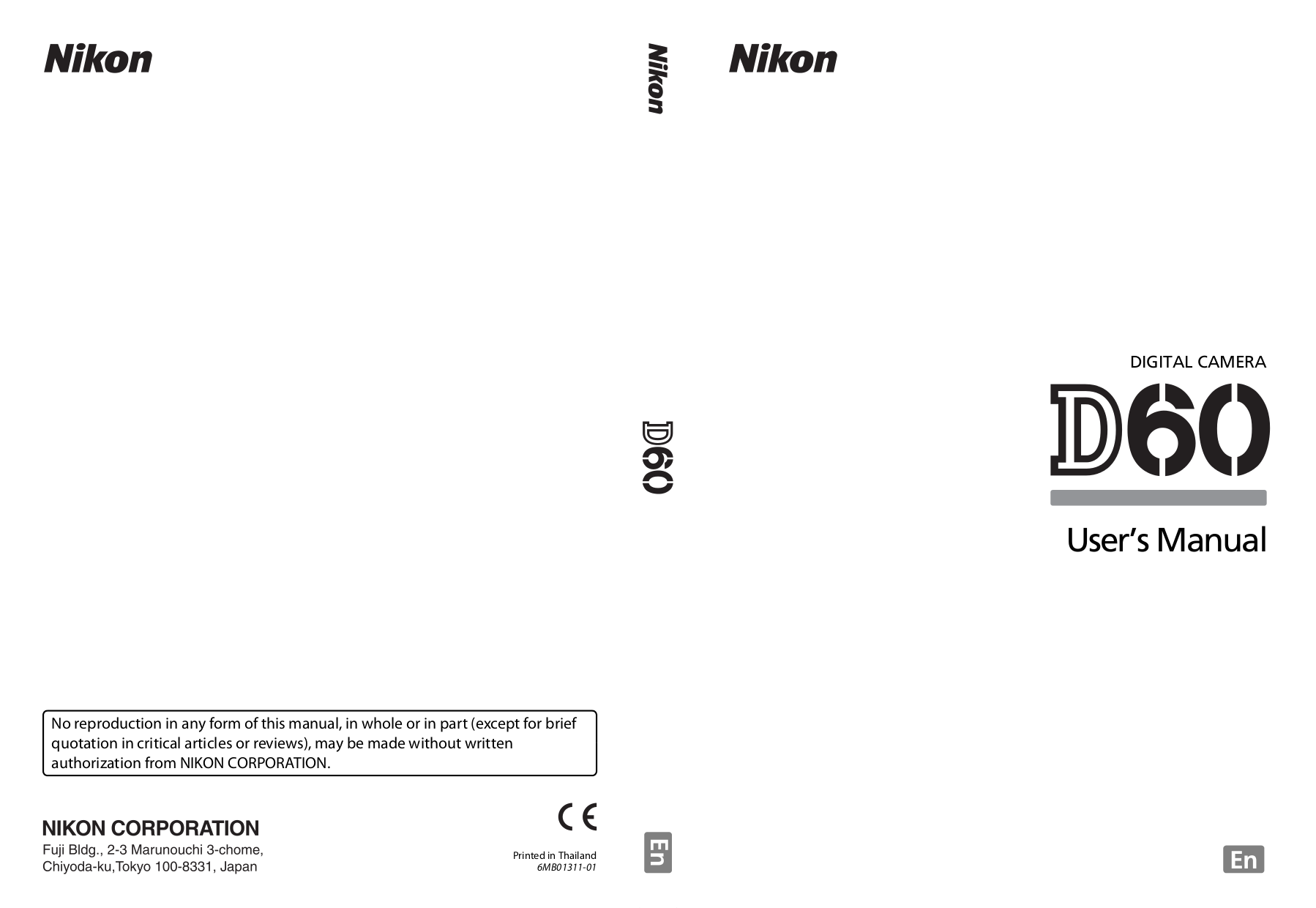 pdf for Nikon Other MH-53 Camera Battery Charger manual