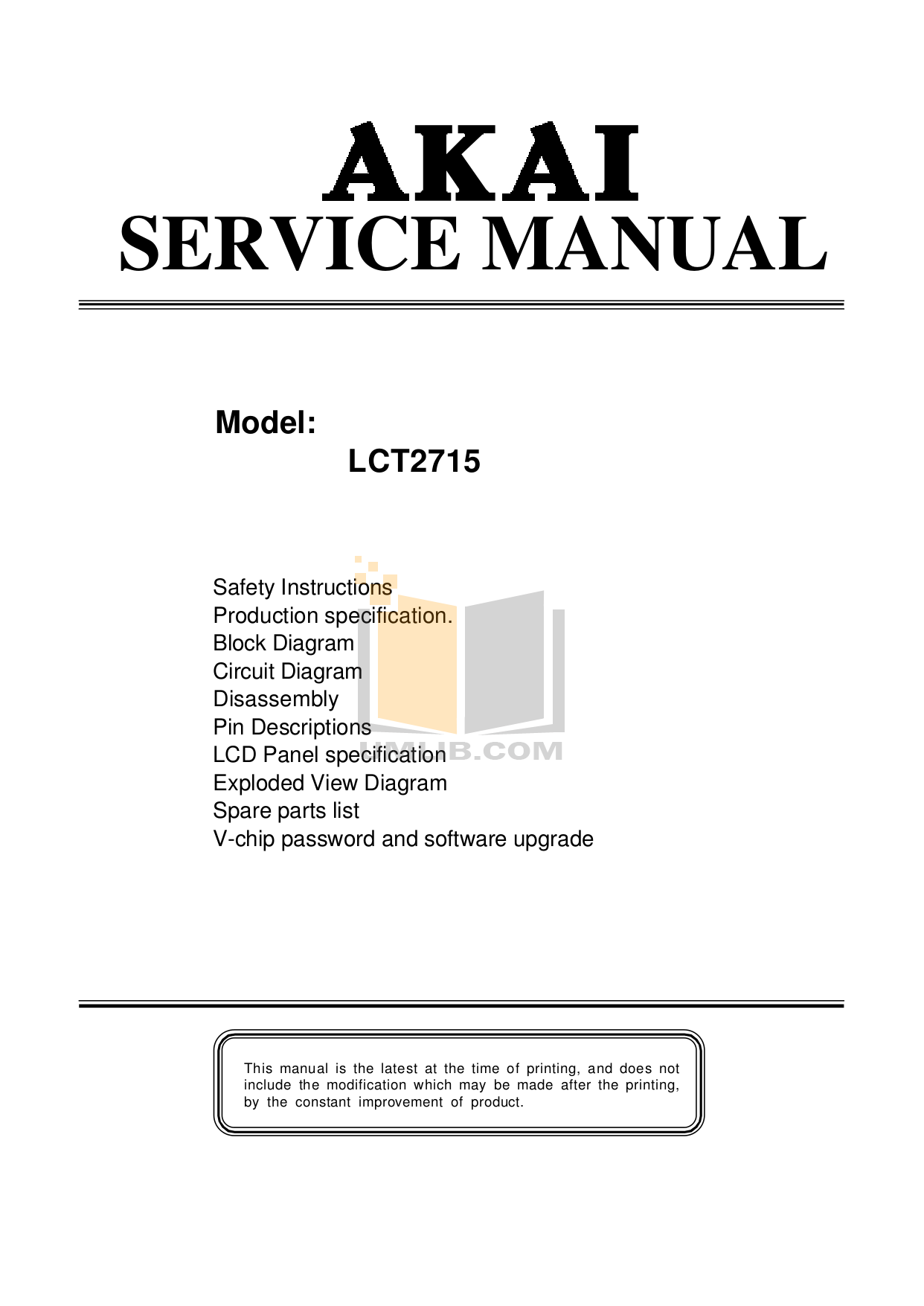 akai lct2715 service manual today manual guide trends sample u2022 rh brookejasmine co