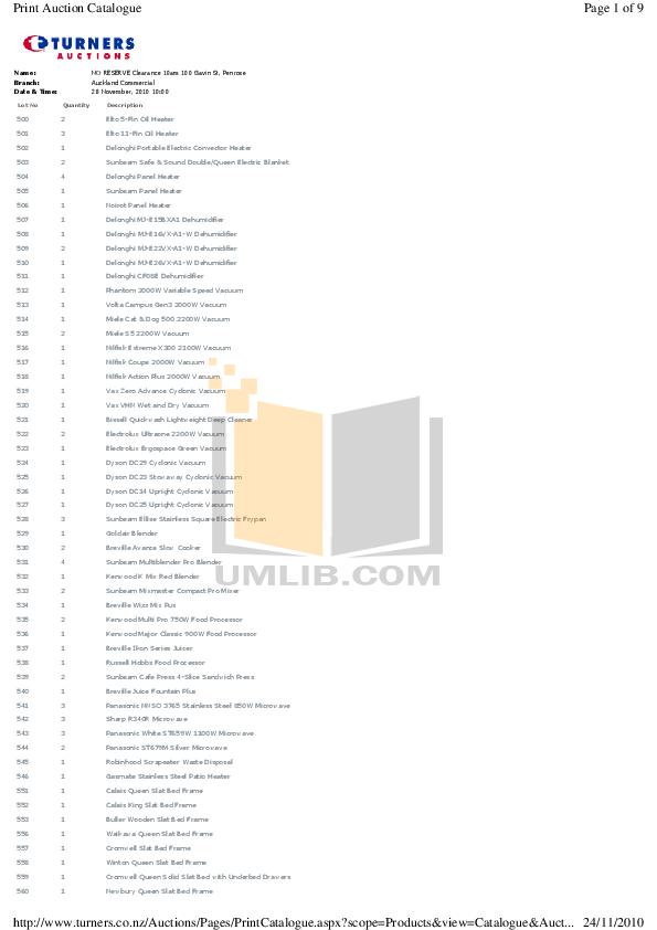 pdf for Bissell Vacuum 7340 manual