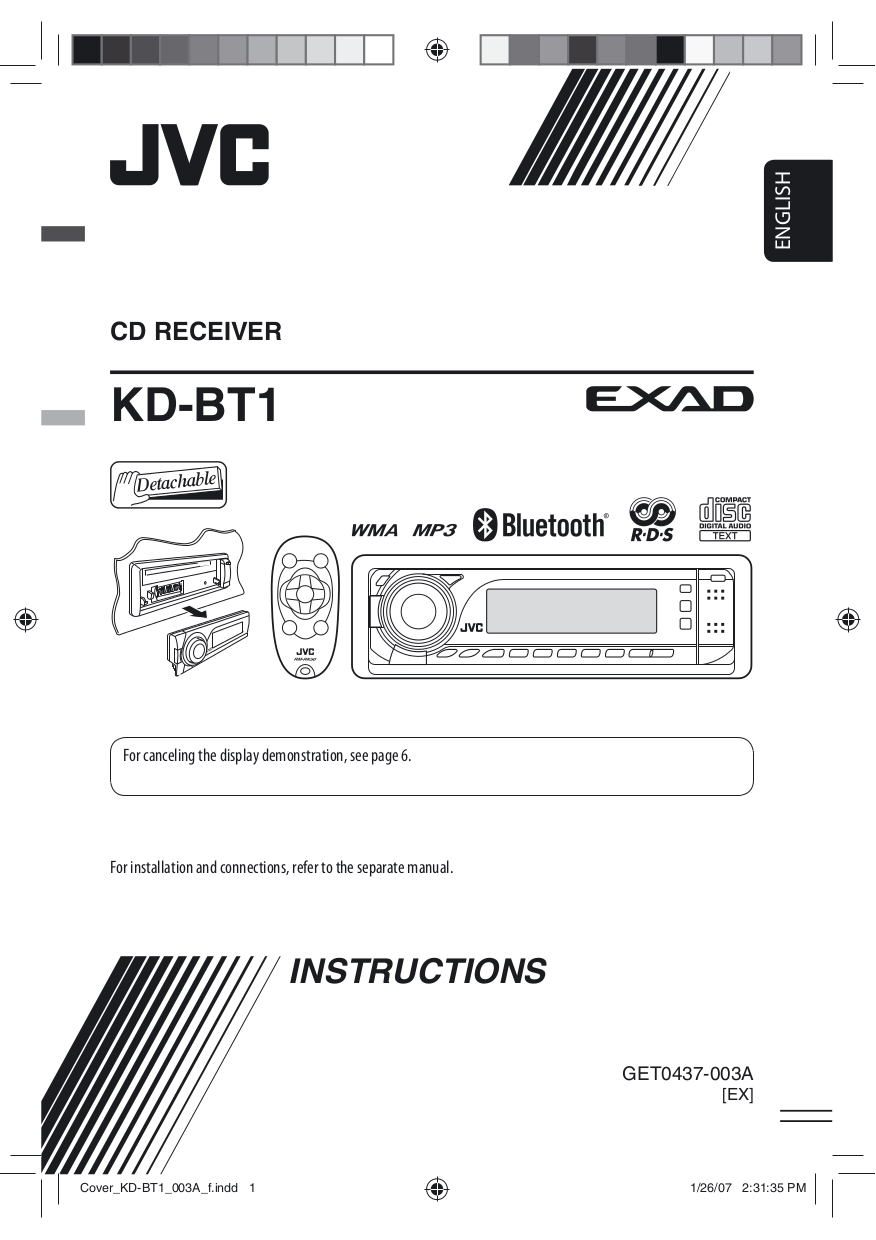 download free pdf for jvc kd bt1 car receiver manual rh umlib com JVC Radio jvc kd-bt1 instruction manual