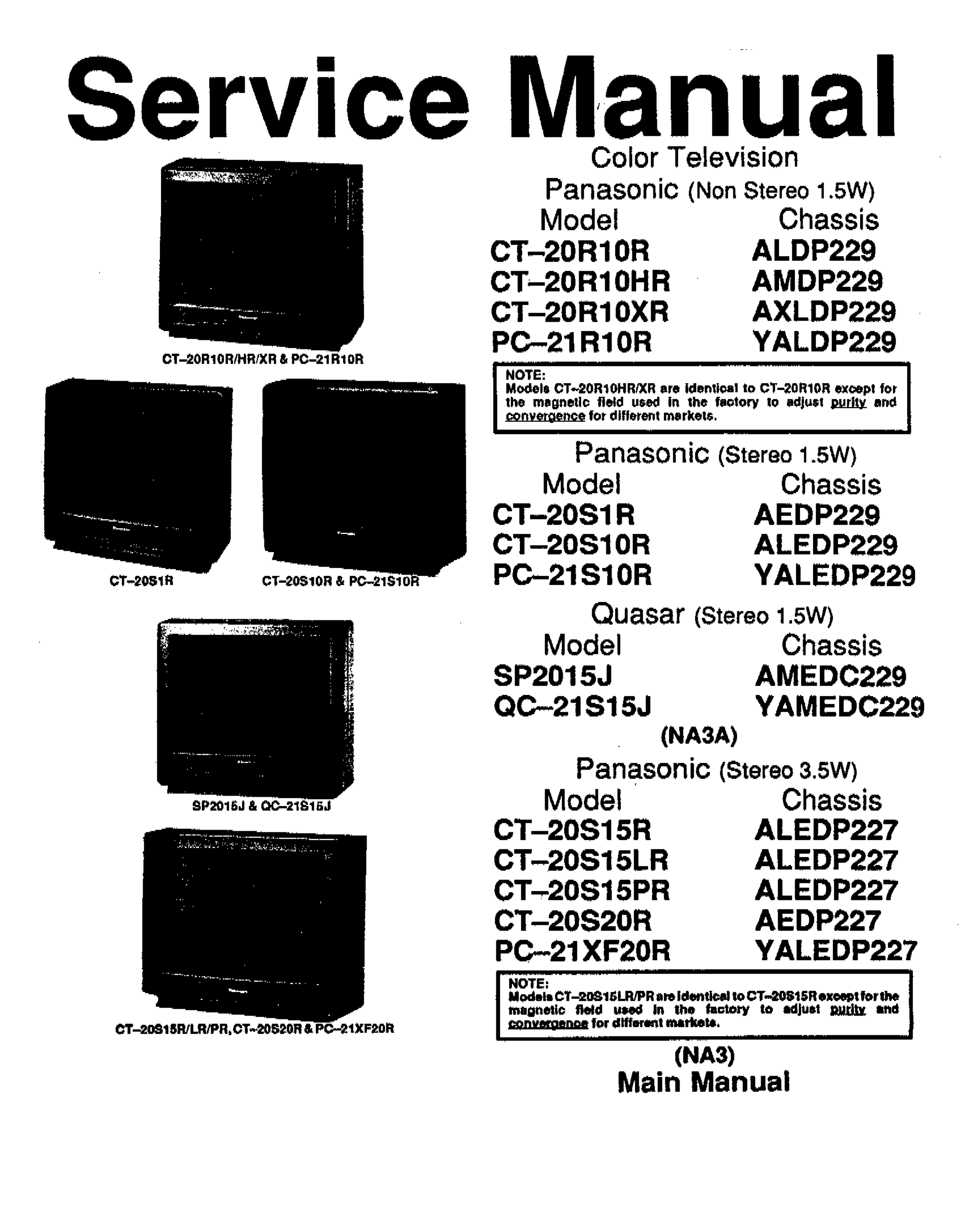 pdf for LG Monitor M1510S manual