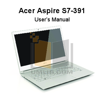 pdf for Acer Desktop Aspire Z800 manual