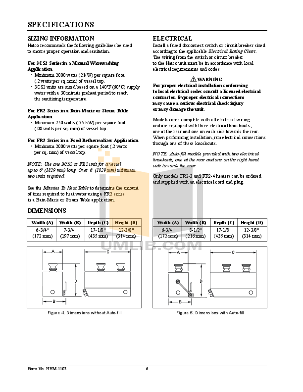 Hatco Other FR2-4 pdf page preview