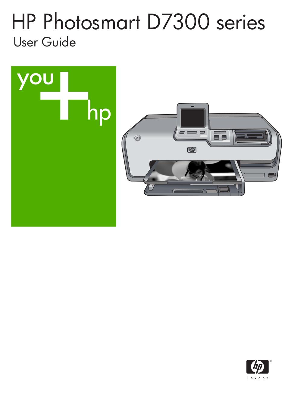 pdf for HP Printer Photosmart 7300 manual