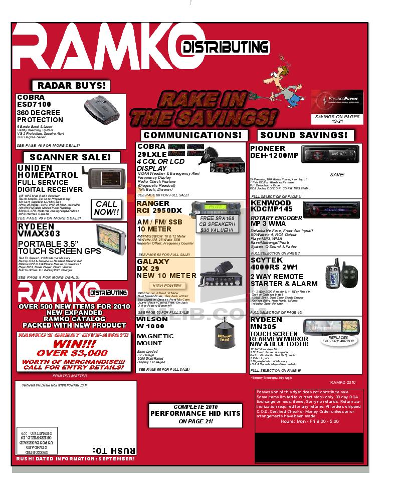 pdf for Crunch Car Amplifier PowerZone P5000.5 manual