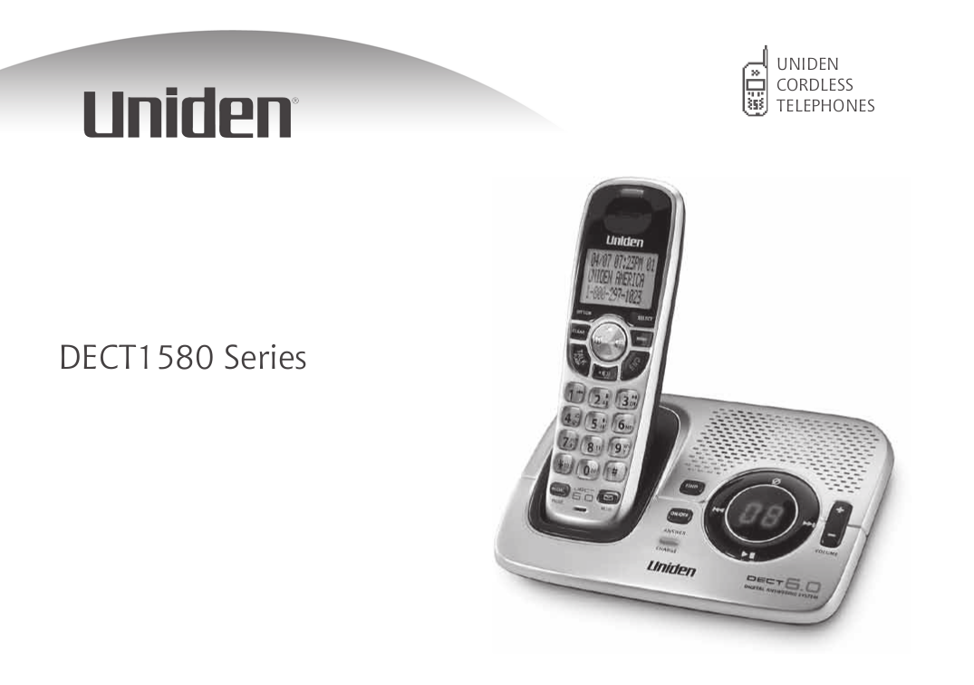 pdf for Uniden Telephone D1660-2 manual