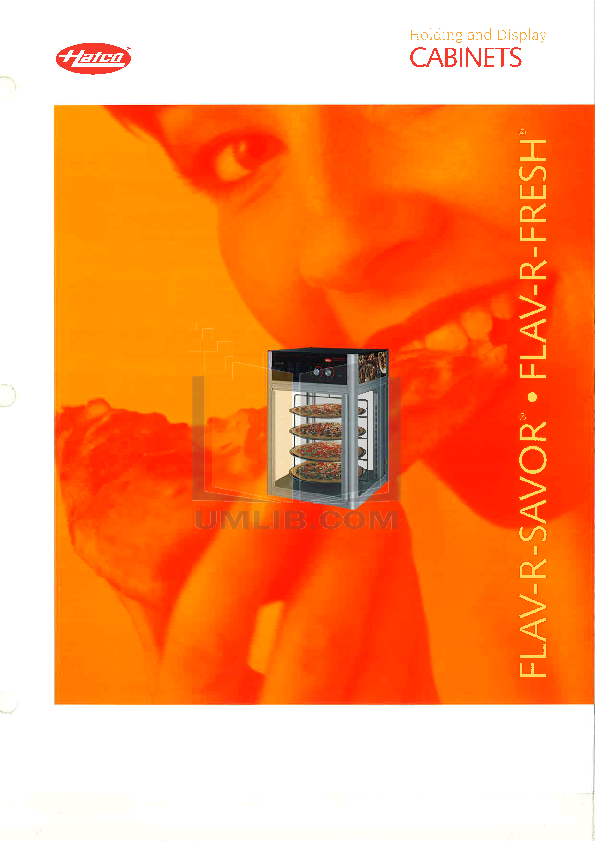 pdf for Hatco Other FDW-1 manual