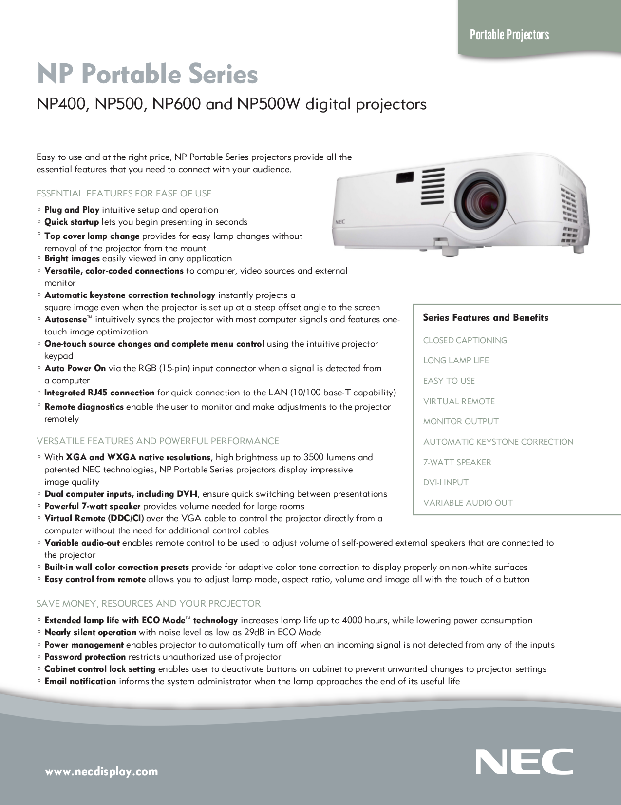 Nec np400 manual pdf for nec projector np400 manual fandeluxe Gallery