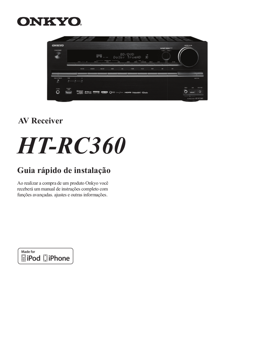 download free pdf for onkyo ht rc360 receiver manual rh umlib com Onkyo HT Rc360 Firmware Update onkyo ht-rc360 specs