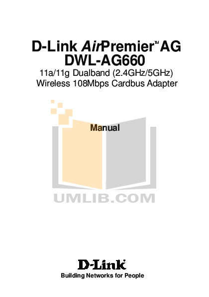 pdf for D-link Other DWL-AG660 manual